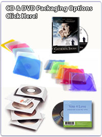 CD & DVD Packaging Options!